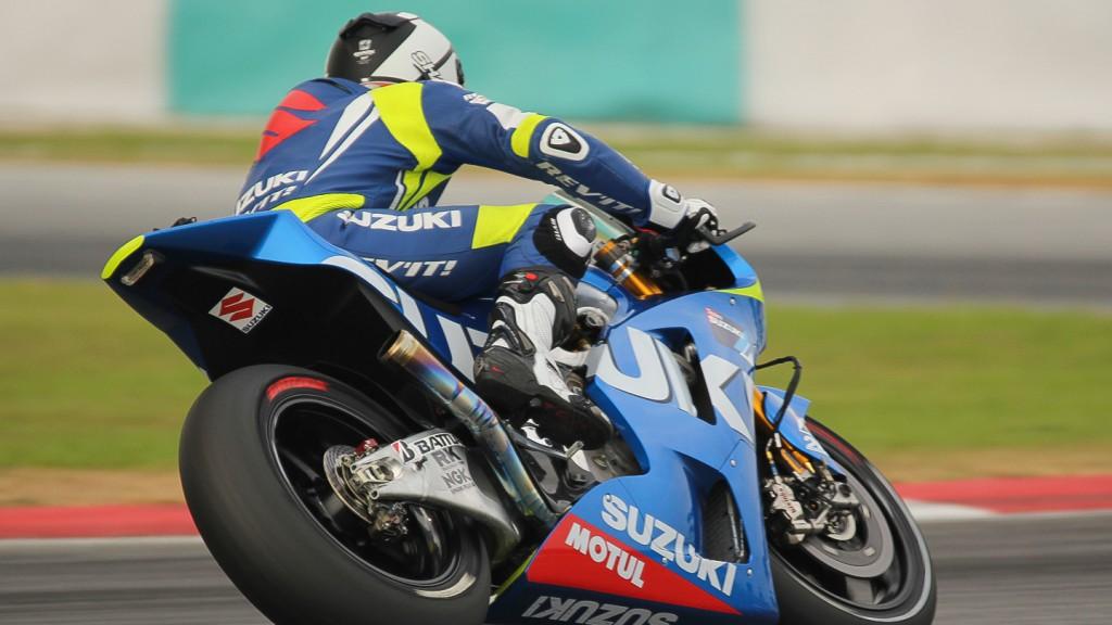 Randy dePuniet, Team Suzuki MotoGP, Sepang Test © Max Kroiss
