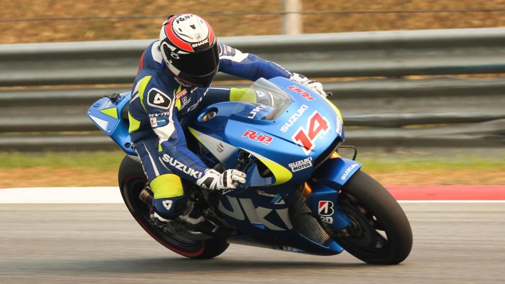 Randy de Puniet, Team Suzuki MotoGP, Sepang Test © Max Kroiss