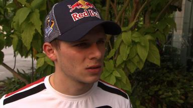 Much better track conditions states long runner Bradl