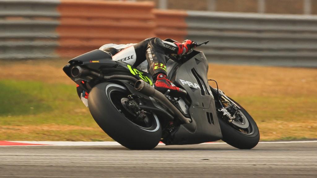 Andrea Iannone, Pramac Racing, Sepang Test © Max Kroiss