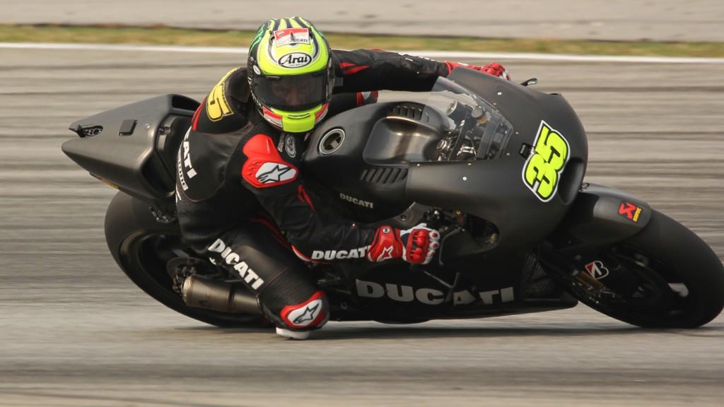 Cal Crutchlow, Ducati Team, Sepang Test © Max Kroiss