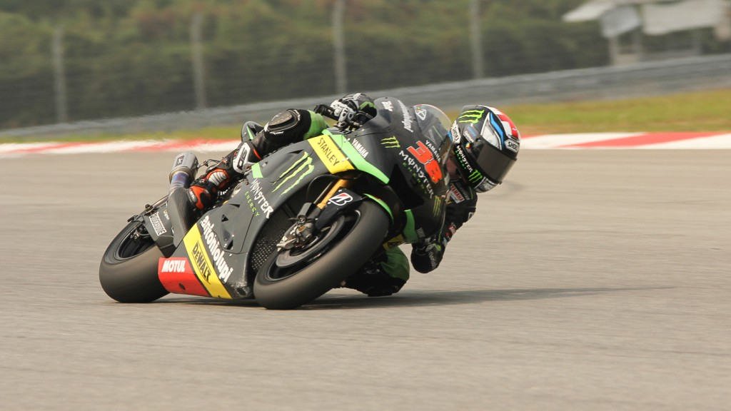 Bradely Smith, Monster YAmaha Tech 3, Sepang Test © Max Kroiss