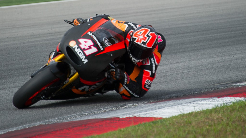 Aleix Espargaro, NGM Mobile Forward Racing, Sepang Test