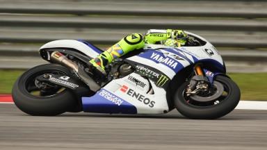 Valentino Rossi, Yamaha Factory Racing, Sepang Test © Max Kroiss
