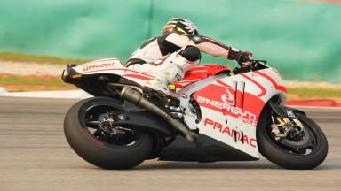 Yonny Hernandez, Pramac Racing, Sepang Test © Max Kroiss