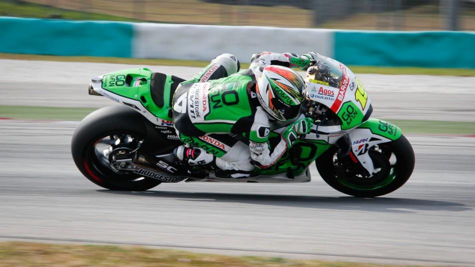 motogp.com · Alvaro Bautista, GO&FUN Honda Gresini, Sepang Test