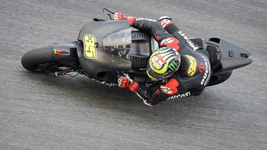 Cal Crutchlow, Ducati Team, Sepang Test