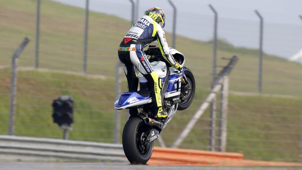 Valentino Rossi, Yamaha Factory Racing, Sepang Test