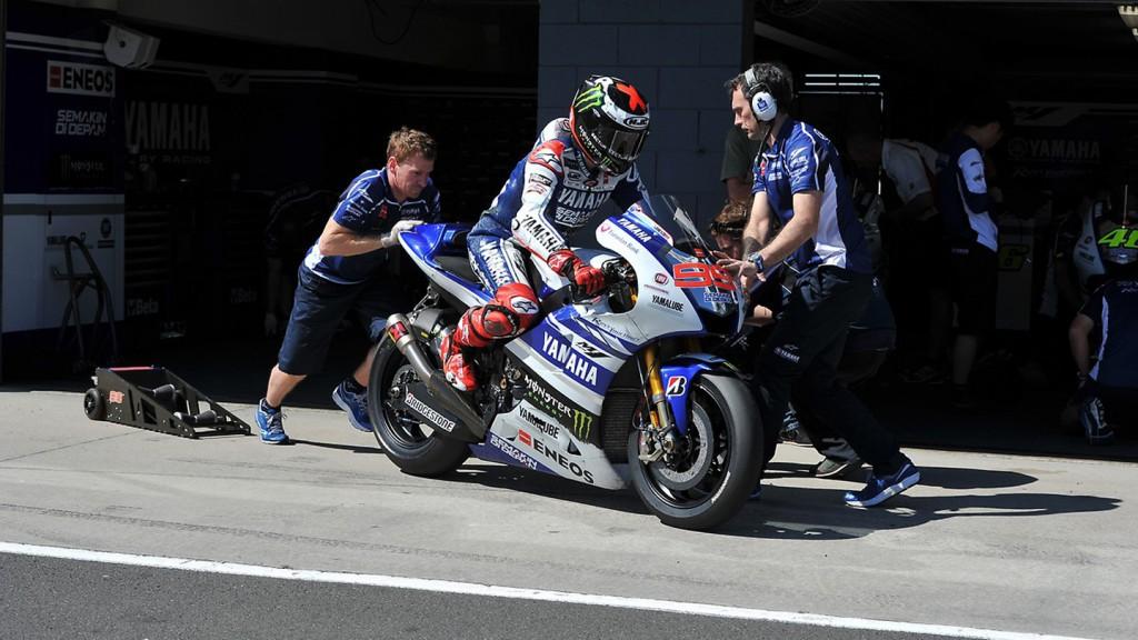 Jorge Lorenzo - Phillip Island Test