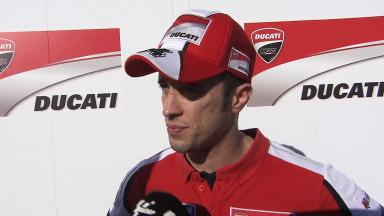 Lap times and consistency both please Dovizioso