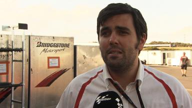 Bridgestone's Moscaritolo sums up Day 2-3 plans