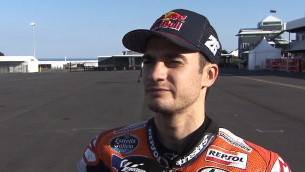 Bird strike as Pedrosa completes 20-lap run - ASC - Action Sports Connection