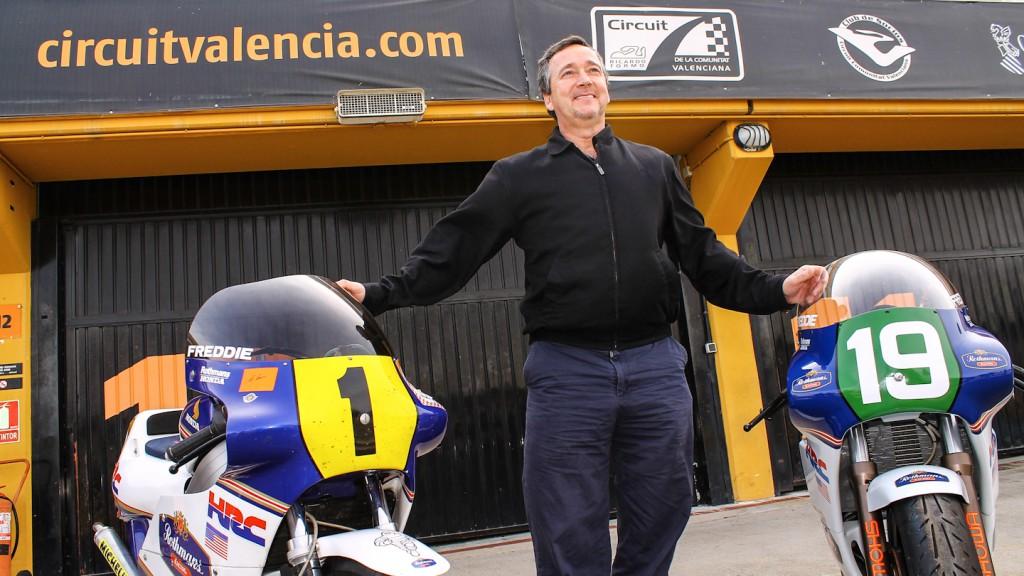 MotoGP Legend Freddie Spencer, Circuit de la Comunitat Valenciana Ricardo Tormo