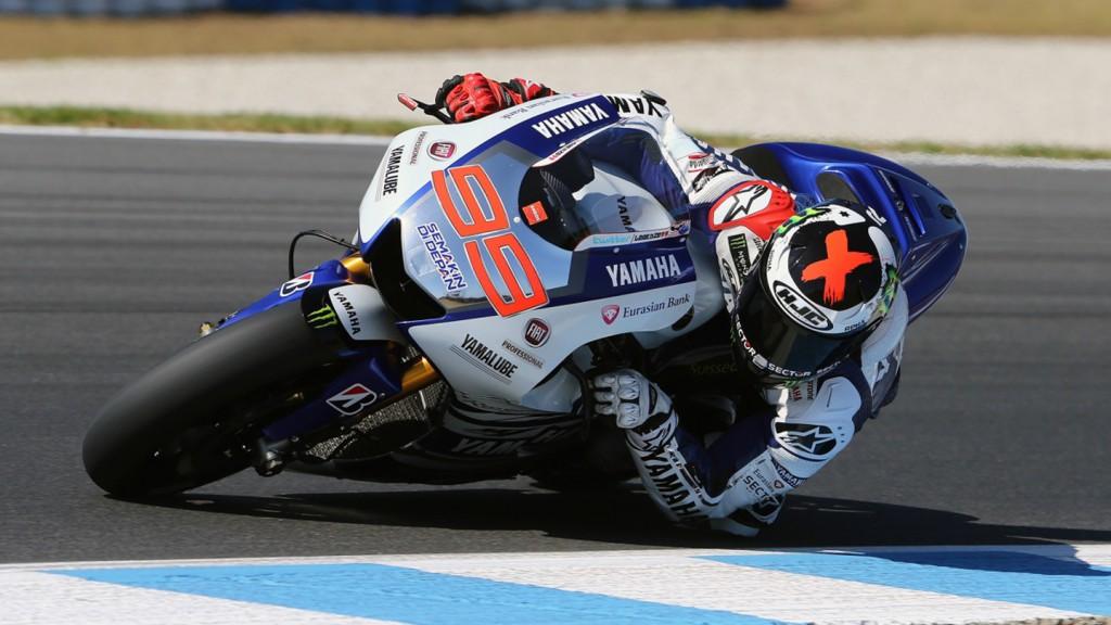 Jorge Lorenzo, Yamaha Factory Racing - Phillip Island Test © Copyright Bruno Silverii