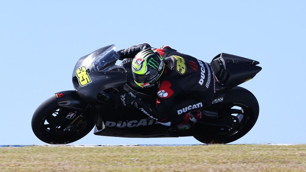 Cal Crutchlow, Ducati Team - Phillip Island Test © Copyright Bruno Silverii