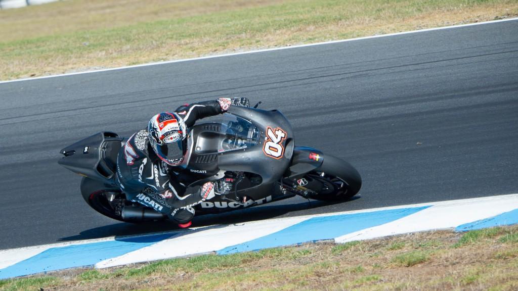 Andrea Dovizioso - Phillip Island Test © Copyright RedGhostOnline & Vikki Robinson [MOTOLINEMagazine.com]