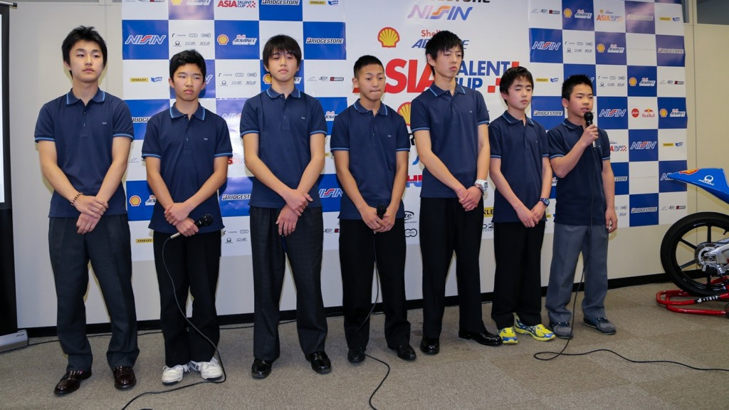 Shell Advance Asia Talent Cup Presentation at Tokyo