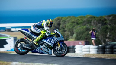 Valentino Rossi - Phillip Island Test © Copyright RedGhostOnline & Vikki Robinson [MOTOLINEMagazine.com]