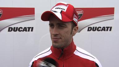Dovizioso keeps it simple on final day