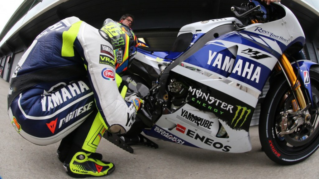 Valentino Rossi, Yamaha Factory Racing - Phillip Island Test © Copyright Bruno Silverii