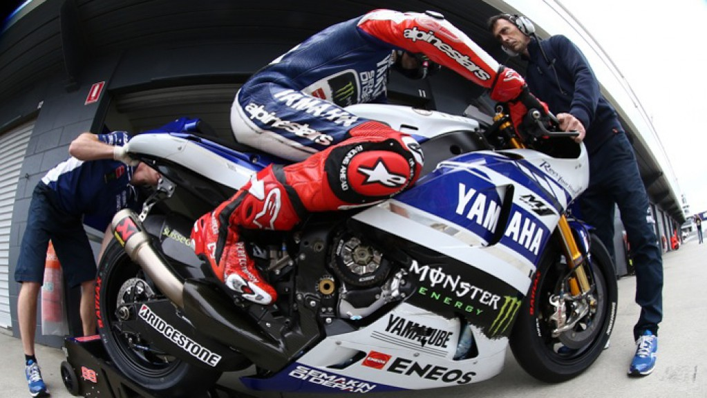 Jorge Lorenzo, Yamaha Factory Racing - Phillip Island Test © Copyright Bruno Silverii