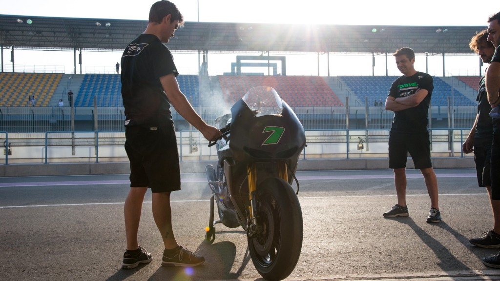 Drive M7 Aspar Team, Qatar Test