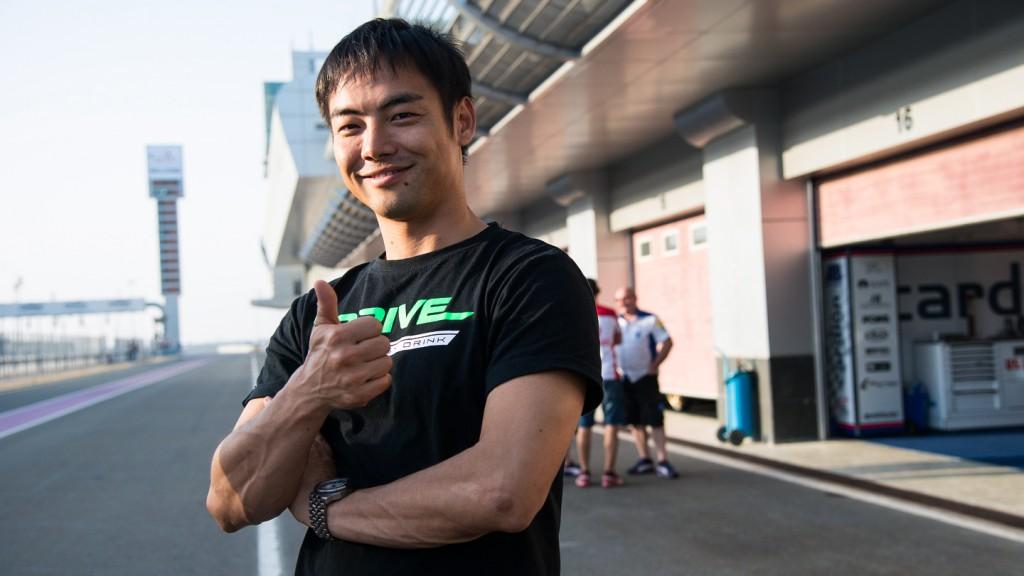 Hiroshi Aoyama, Drive M7 Aspar, Qatar Test