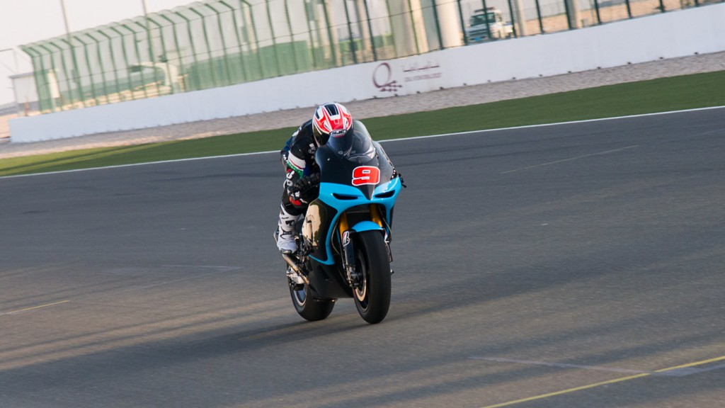 Danilo Petrucci, IodaRacing Project, Qatar Test