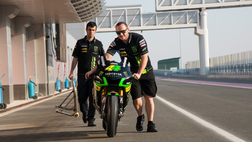 Monster Yamaha Tech 3 team, Qatar Test