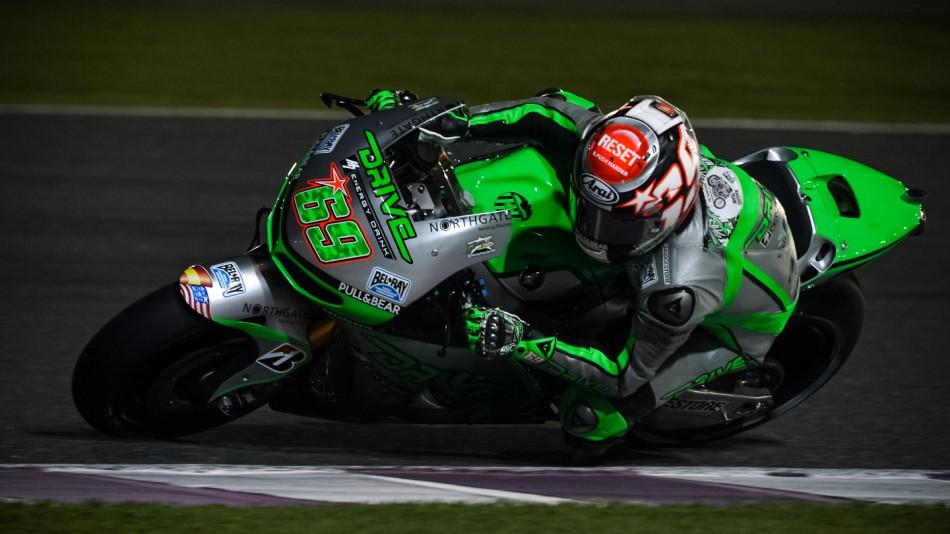 motogp.com · Nicky Hayden, Drive M7 Aspar - Qatar MotoGP™ Test