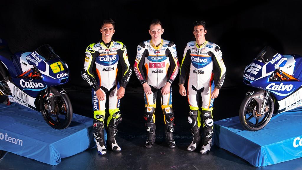 Eric Granado, Jakub Kornfeil, Isaac Viñales, Calvo Team Presentation
