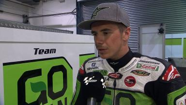 'Quite good' first race simulation for rookie Redding