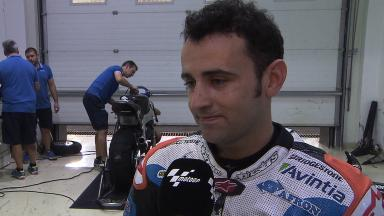 Barbera pleased with team's work on new bike