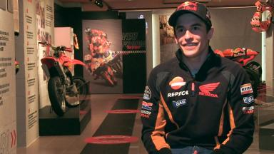 Catching up with Marc Marquez