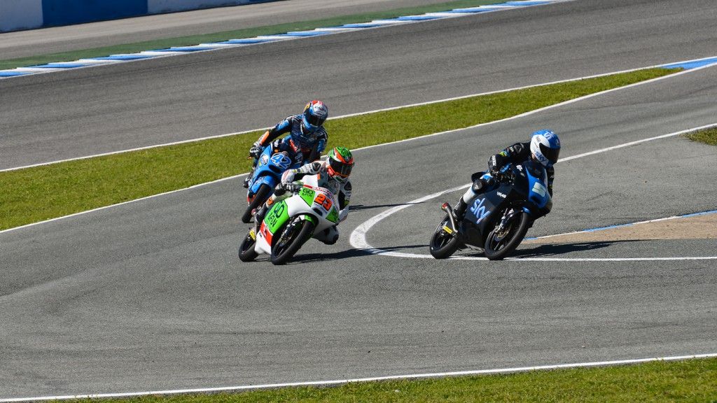 Niccolo Antonelli, Romano Fenati, SKY Racing Team by VR46, Junior Team GO&FUN Moto3, Jerez Test