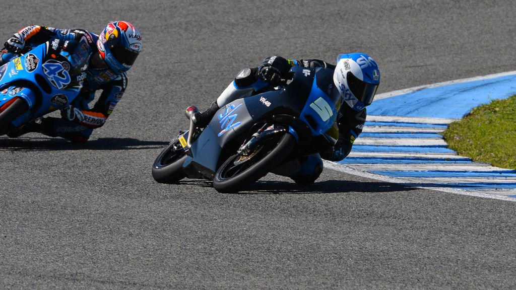 Romano Fenati, Alex Rins, SKY Racing Team By VR46, Estrella Galicia 0,0, Jerez Test