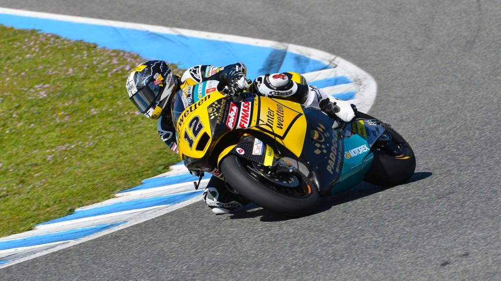 Thomas Luthi, Interwetten Paddock Moto2, Jerez Test