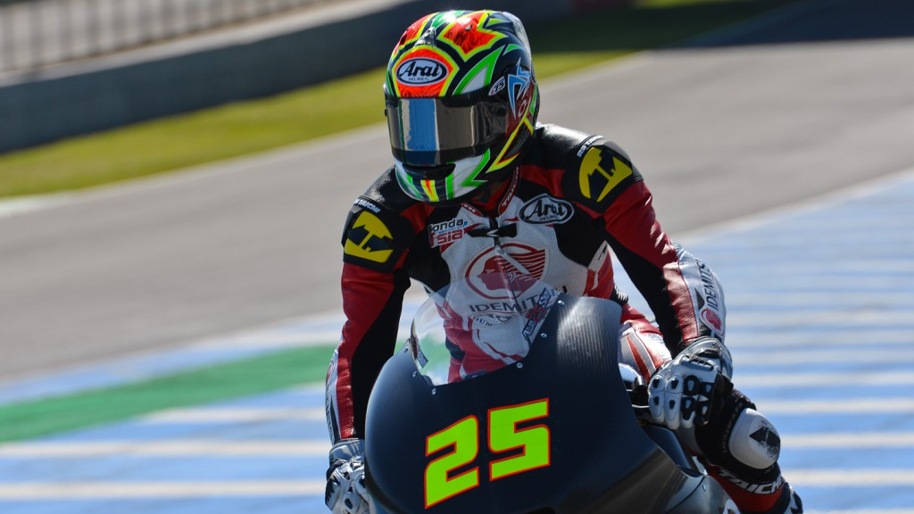 Azlan Sha, IDEMITSU Honda Team Asia, Jerez Test