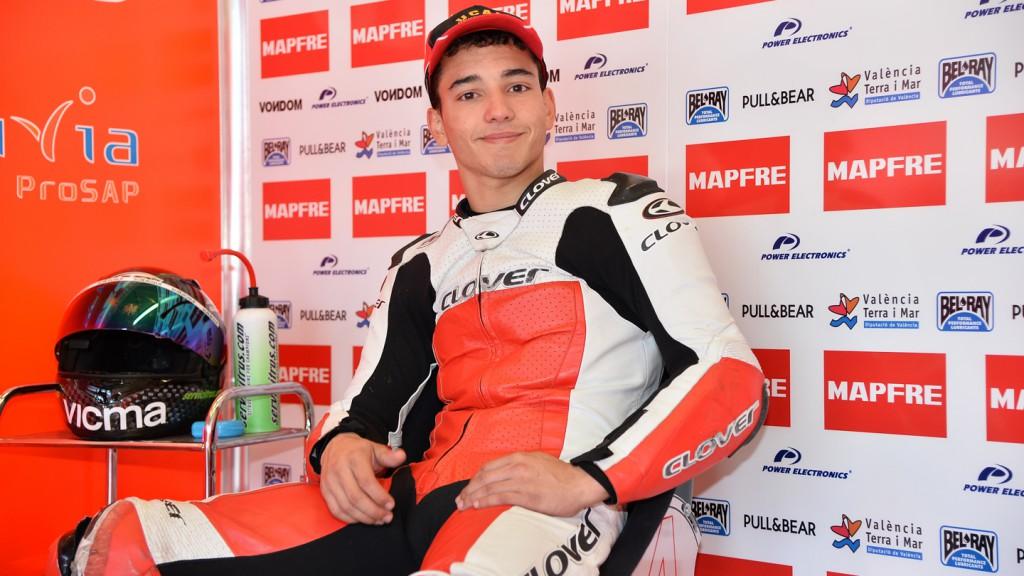 Juanfran Guevara, Mapfre Aspar Team Moto3, Jerez Test