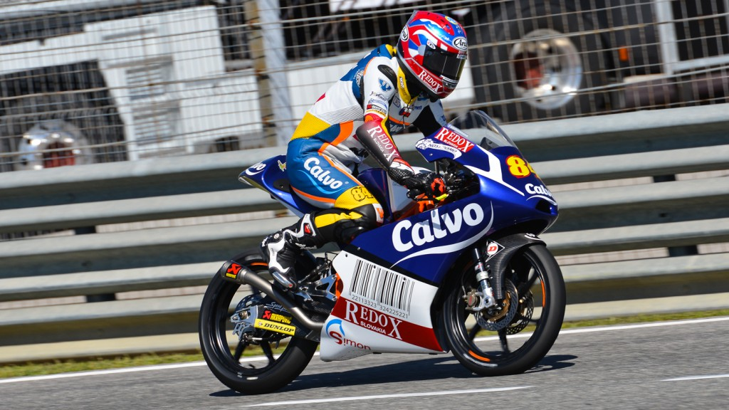 Jakub Kornfeil, Calvo Team, Jerez Test