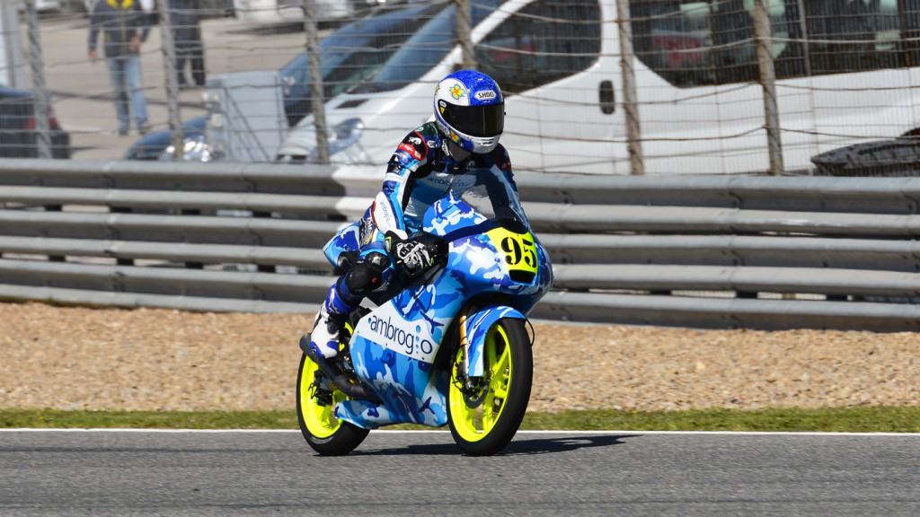 Danilo Jules, Ambrogio Racing, Jerez Test