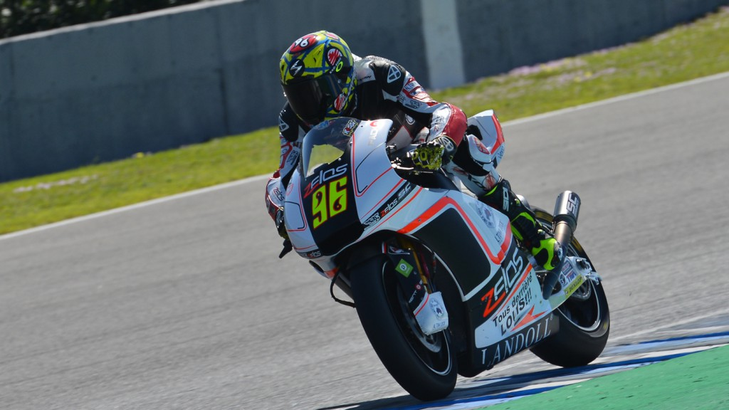 Louis Rossi, SAG Team, Jerez Test