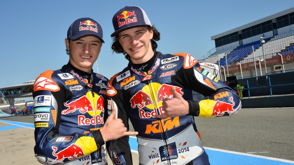 Karel Hanika, Red Bull KTM Ajo, Jerez Test