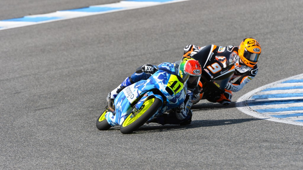 Brad Binder, Scott Deroue, RW Racing GP, Ambrogio Racing, Test Jerez