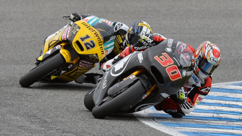 Takaaki Nakagami, Tom Luthi, IDEMITSU Honda Team Asia, Interwetten Paddock Moto2, Jerez Test