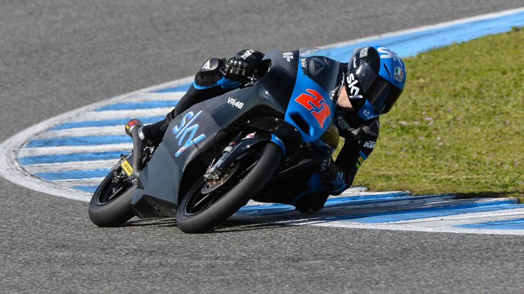 Francesco Bagnaia, SKY Racing Team By VR46, Test Jerez