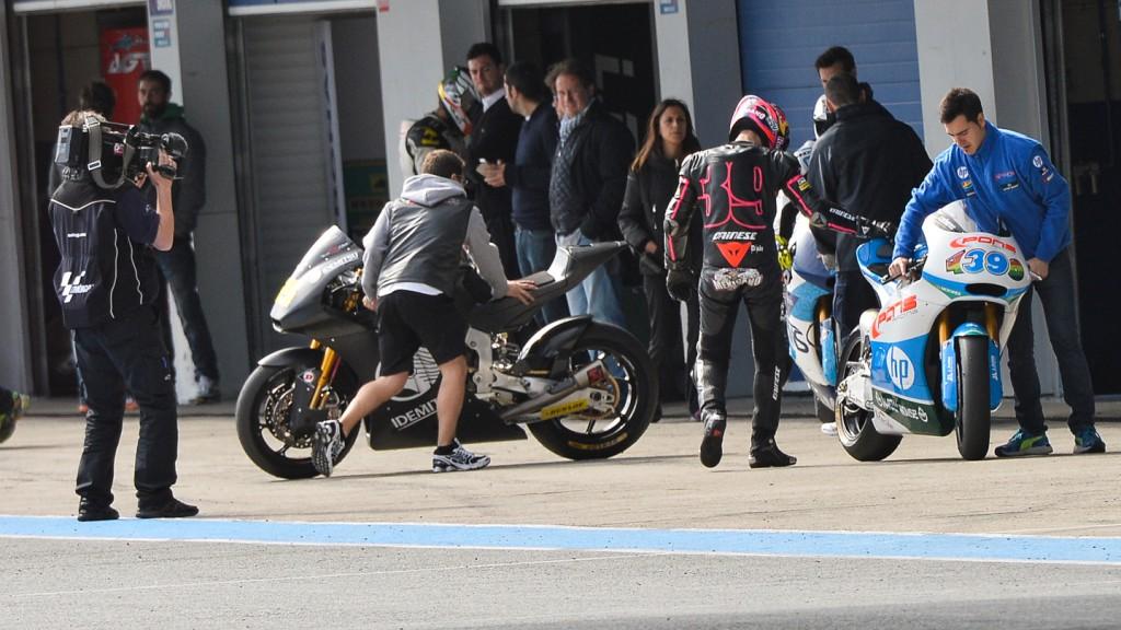 Luis Salom, Pons HP 40, Jerez Test