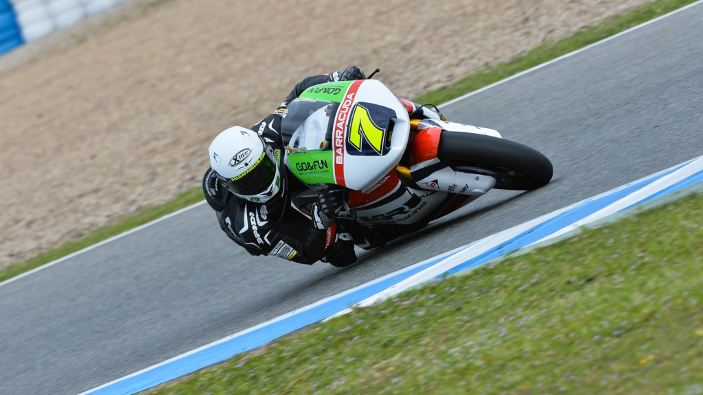 Lorenzo Baldasarri, Gresini Moto2, Jerez Test