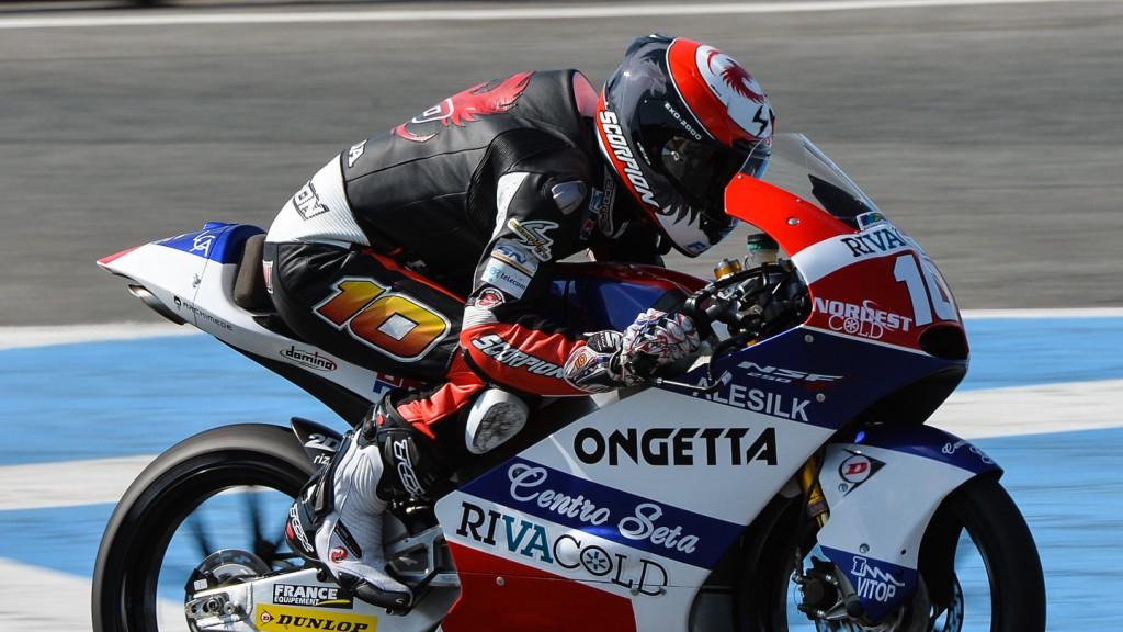 Alexis Masbou, Ongetta-Rivacold, Jerez Test