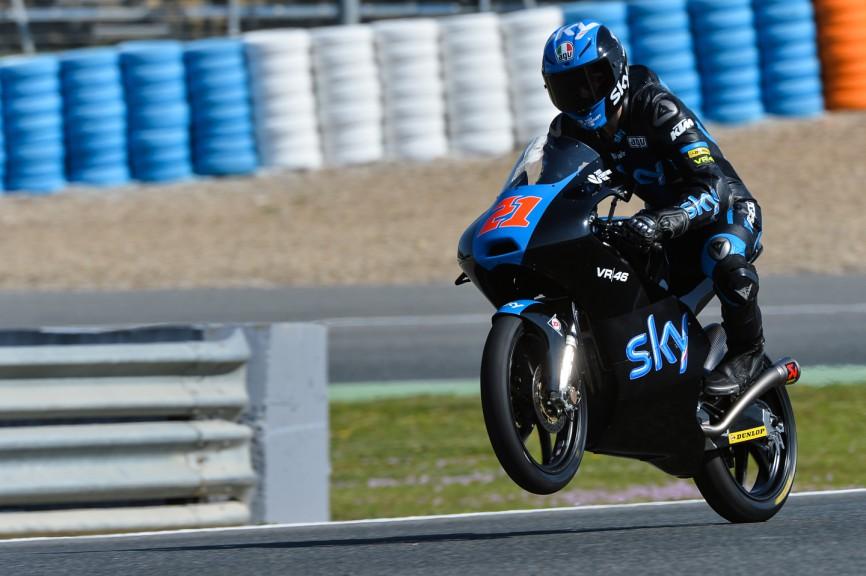 Francesco Bagnaia, SKY Racing Team By VR46, Test Jerez